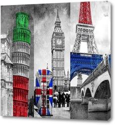 Постер Памятники архитектуры