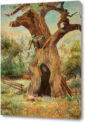 Постер Старый дуб