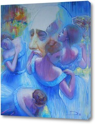 Картина Портрет  Дега