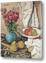 Яблоки,персики и розы