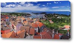 Постер Средиземноморский пейзаж. Врсар.