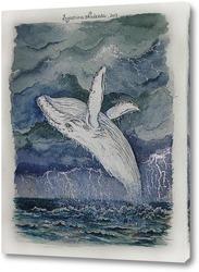 Постер Белый кит