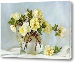 Картина Белый майский букет