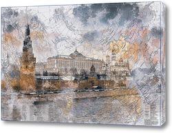Постер Карта России