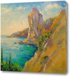 Картина Скалы у моря