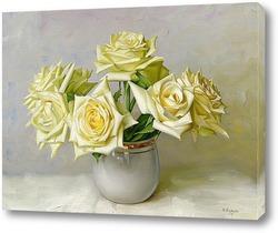 Картина Девыть белых роз
