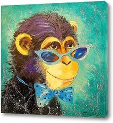 Картина Мальчик обезьяна