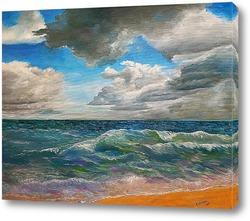 Постер Переменчивые настроения океана