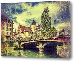 Картина Страсбургский мостик