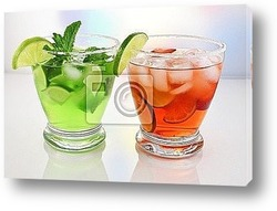 Постер Cold drinks