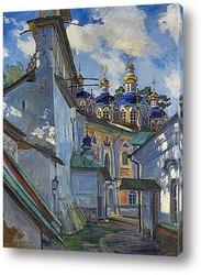 Постер Вид на Печерский монастырь