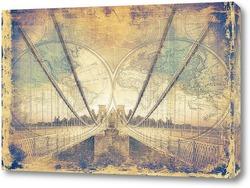 Постер мост Бристоль
