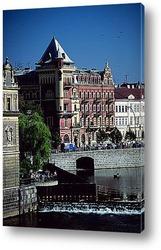 Карлов Мост в Чехии.