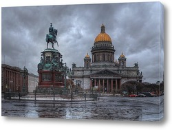 Постер Исаакиевская площадь, Санкт-Петербург