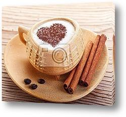 Кофе Эспрессо. Чашка кофе