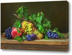 Постер С виноградом