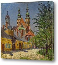 Картина Вид церкви