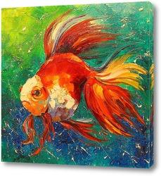 Картина Золотая рыбка