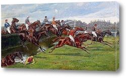 Картина Ливерпульские Великие Национальные скачки