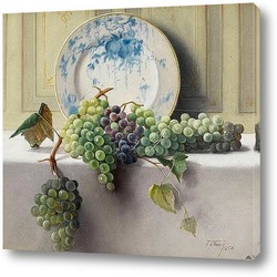 Картина Натюрморт с виноградом