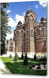 Постер Спасо-Бородинский монастырь
