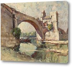Картина Мост в Авиньоне