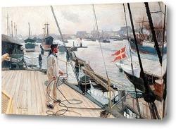 Постер Из порта Копенгаген
