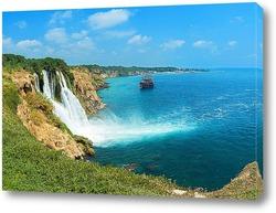 Постер Дюденский водопад