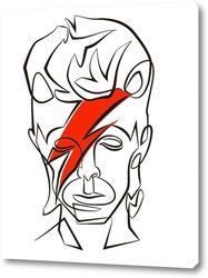 Картина Девид Боуи.
