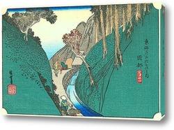 Картина 21-я станция: Окабе.