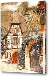Постер Романтический город