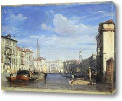 Большой канал, Венеция.Вид на Реальто