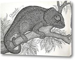 Картина Хамелеон