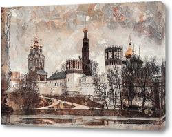 Постер Новодевичий монастырь