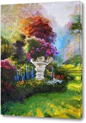 Постер В саду