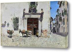 Картина Дверь дома в Толедо (1875-1878)