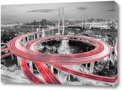 Картина Мост Нанпу. Китай