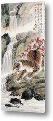 Тигры в лесу