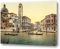 Постер Церковь Сан-Джеремия - Венеция, Италия