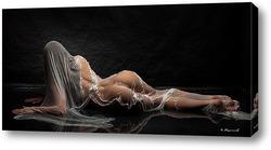 Девушка за мокрым стеклом 4