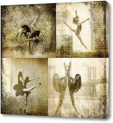 Балерины. Сепия