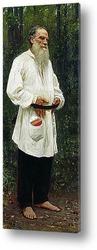 Картина Л.Н.Толстой босой