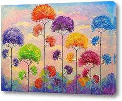 Картина Мелодия деревьев