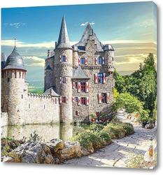 Постер  Замок Сацвей в Германии