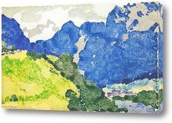 Картина Голубые горы
