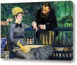 Читающая женщина, 1879