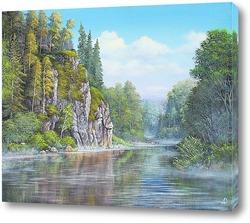 Картина Река Чусовая 3