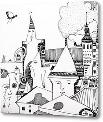 Картина Городок