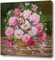 Весенние цветы и листья