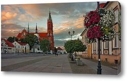 Постер Старый город Белостока.